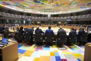 Óõíåäñßáóç ôïõ Eurogroup ôçí ÄåõôÝñá 20 Öåâñïõáñßïõ 2017, óôéò ÂñõîÝëëåò. (EUROKINISSI/ÅÕÑÙÐÁÚÊÇ ÅÍÙÓÇ)