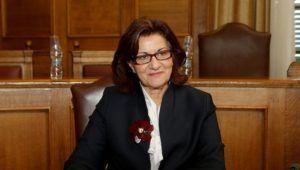 Η αναπληρώτρια υπουργός Εργασίας, Κοινωνικής Ασφάλισης και Κοινωνικής Αλληλεγγύης, Θεανώ Φωτίου ενημερώνει επιτροπή της Βουλής ,Τρίτη 14 Φεβρουαρίου 2017. Η ειδική μόνιμη επιτροπή περιφερειών της Βουλής συνεδρίασε με θέμα ημερήσιας διάταξης:  Ενημέρωση για τα Δίκτυα Κοινωνικής Αλληλεγγύης στις Περιφέρειες. από την αναπληρώτρια υπουργό Εργασίας, Κοινωνικής Ασφάλισης και Κοινωνικής Αλληλεγγύης, Θεανώ Φωτίου. ΑΠΕ-ΜΠΕ/ΑΠΕ-ΜΠΕ/Παντελής Σαίτας