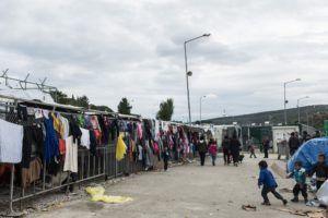 Inside the Moria camp on the island of Lesbos, Greece, on November 28, 2017 / Στιγμιότυπο μέσα απο το Καμπ Προσφύγων της Μόριας, στη Λέσβο, στις 28 Νοεμβρίου, 2017